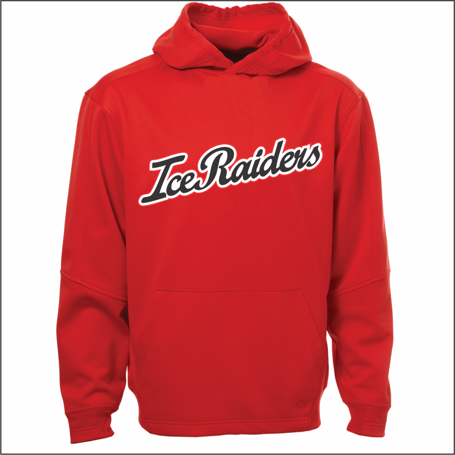ATC™ Ptech Script Fleece Hoodie - Red Youth