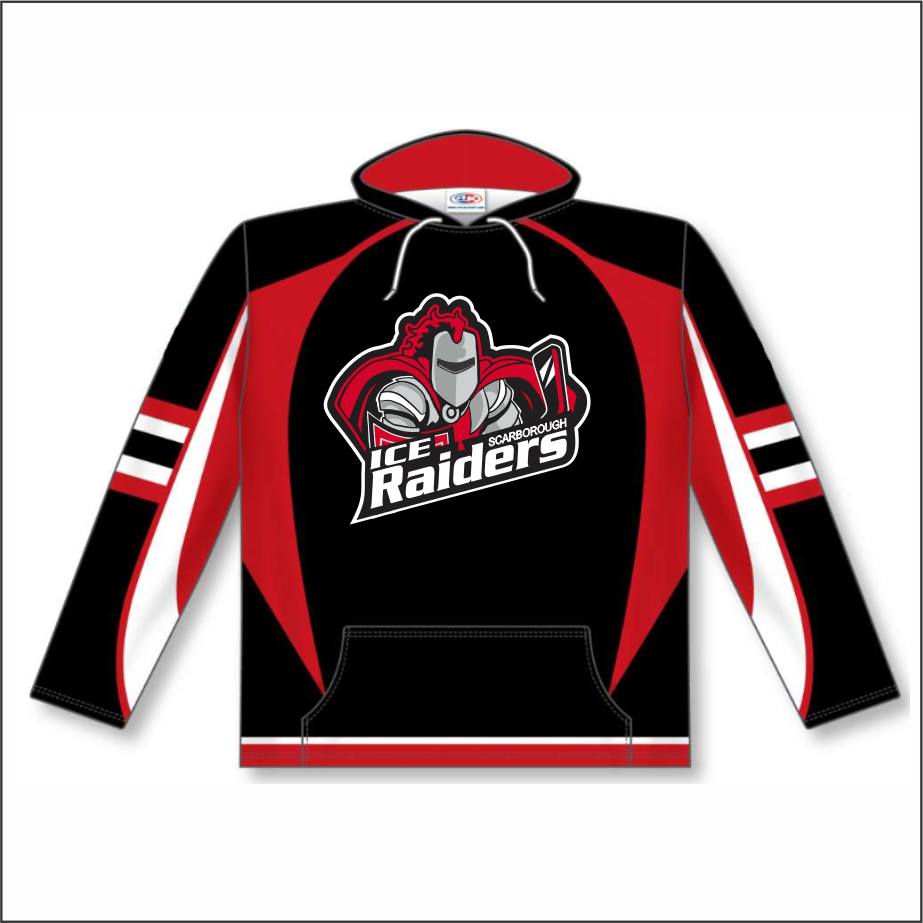 Sublimated Jersey Hoodie - Adult
